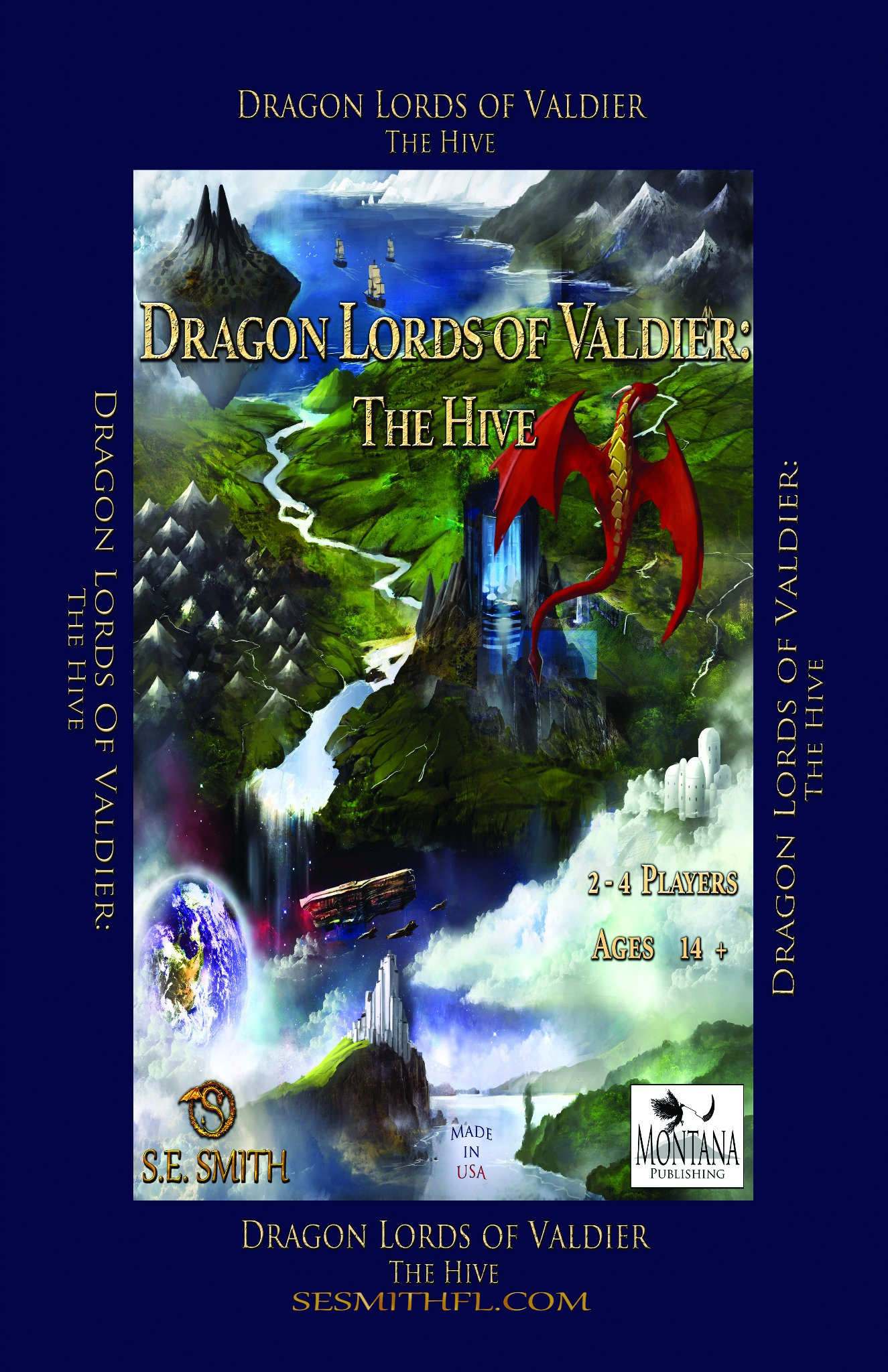 Dragon Lords of Valdier: The Hive Poster (Autographed Poster)