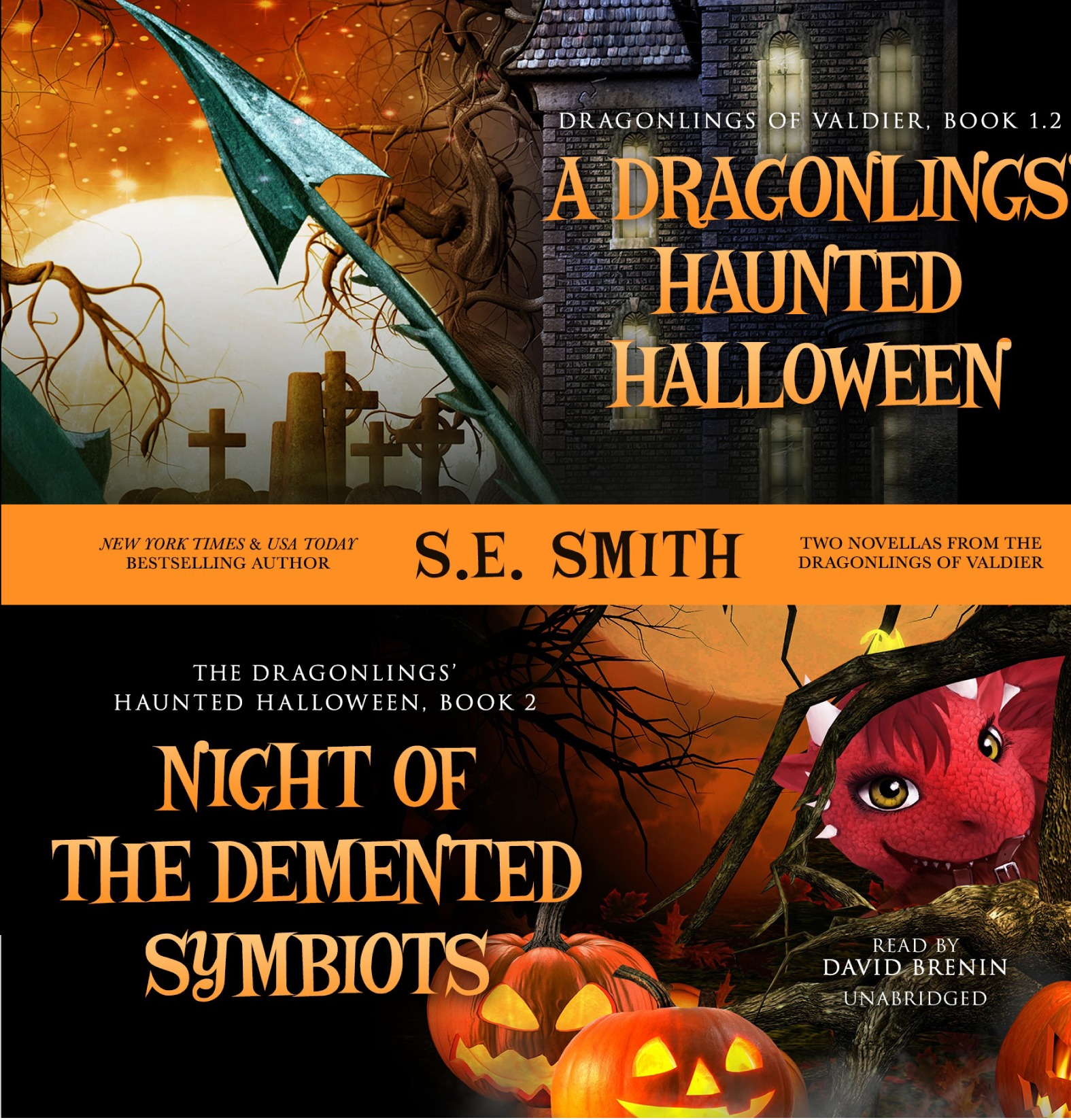 The Dragonlings' Haunted Halloween Combo (Audiobook CD)