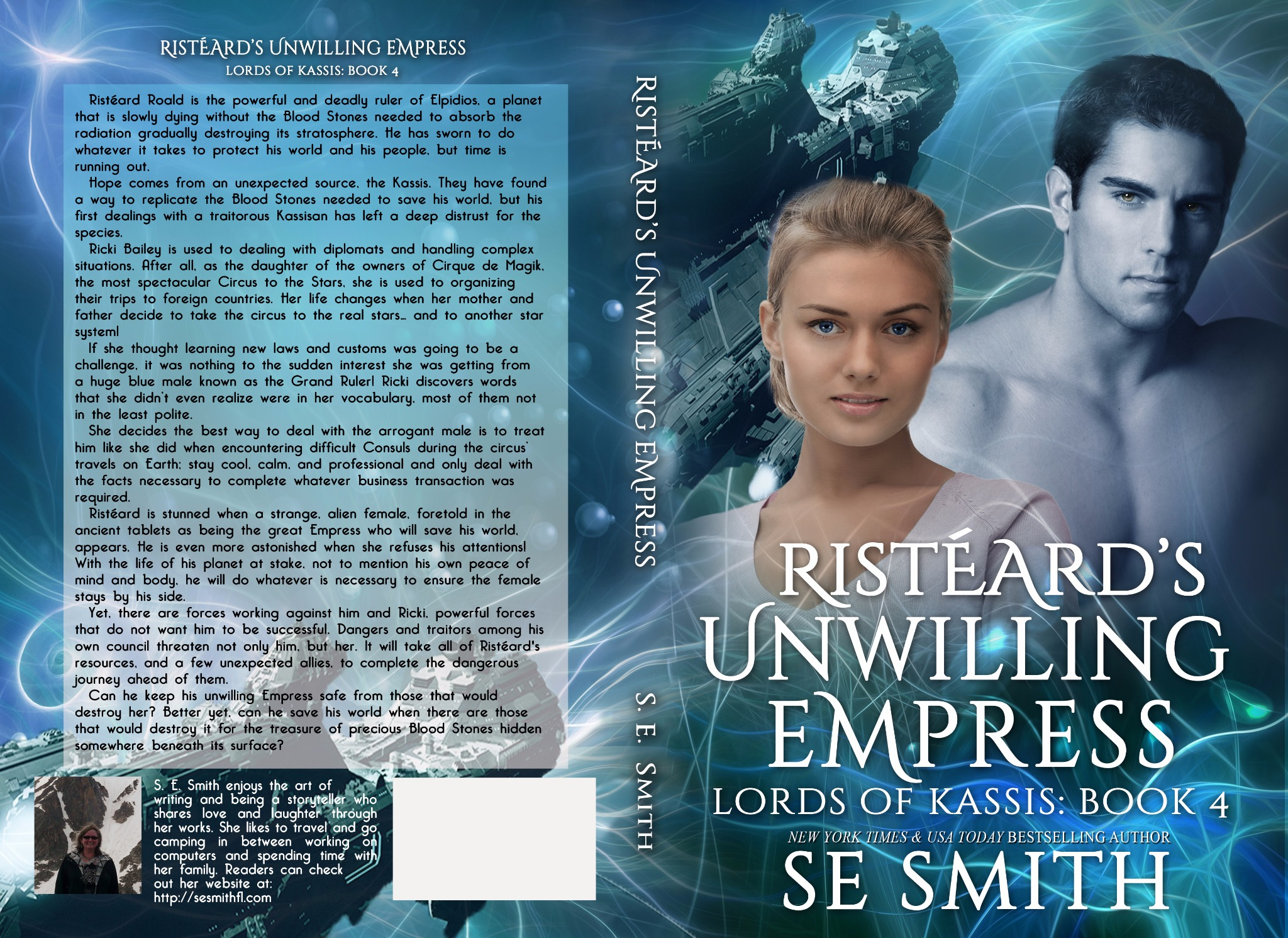 Risteard's Unwilling Empress: Lords of Kassis Book 4 (Paperback)