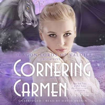 Cornering Carmen: Dragon Lords of Valdier Book 5 (Audiobook CD)