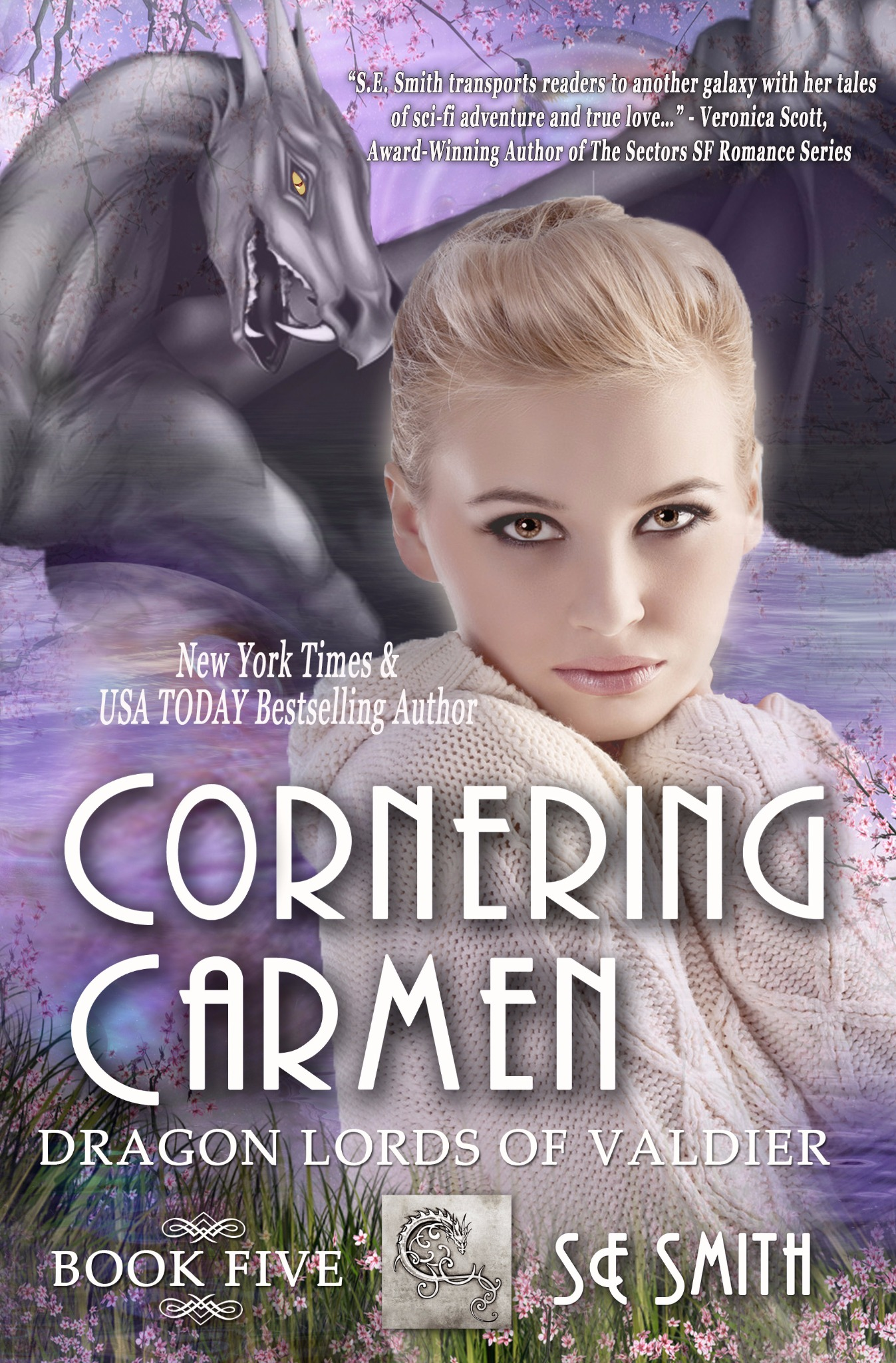 Cornering Carmen: Dragon Lords of Valdier Book 5 (Paperback)