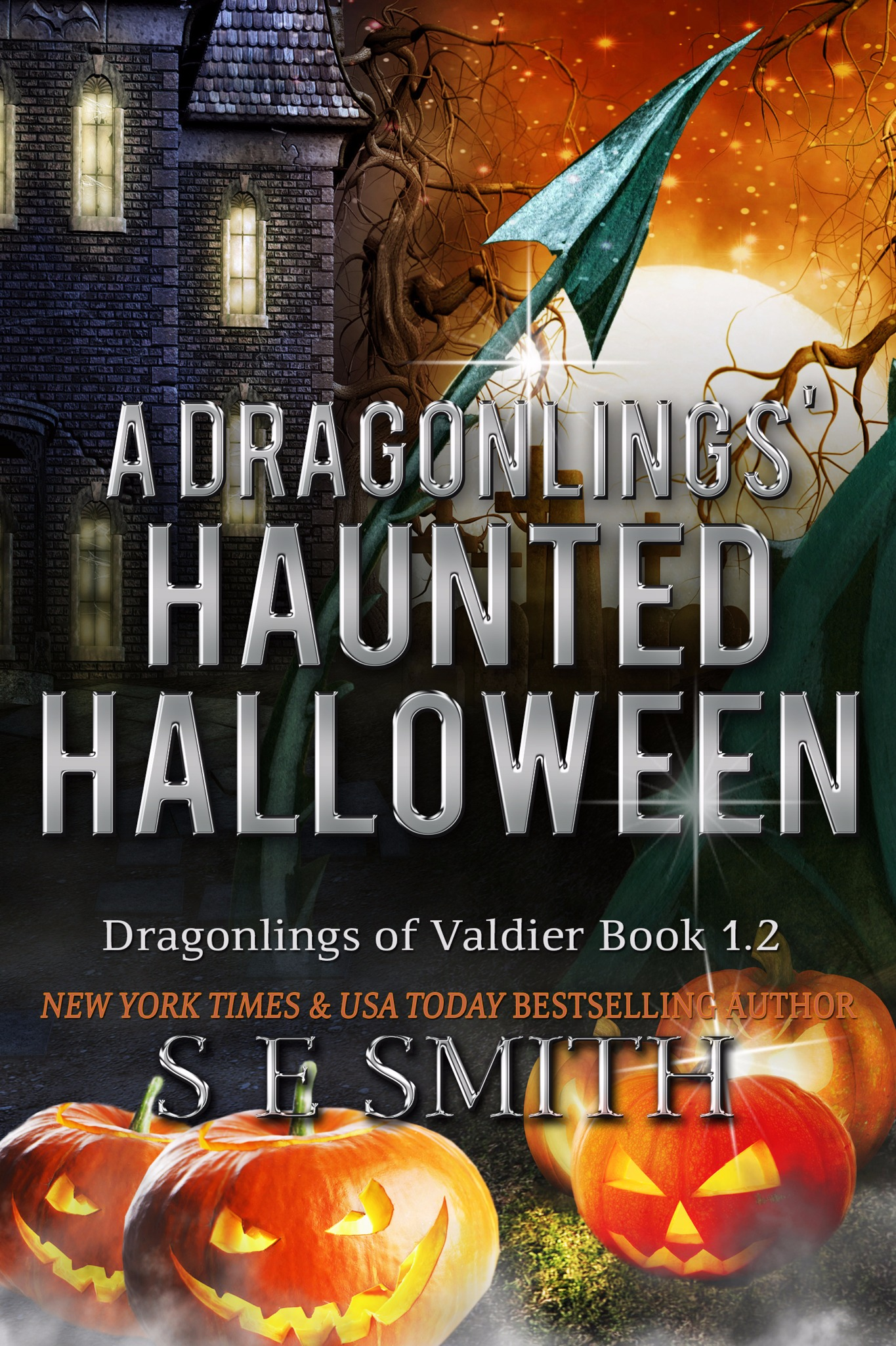 A Dragonlings' Haunted Halloween (Paperback)