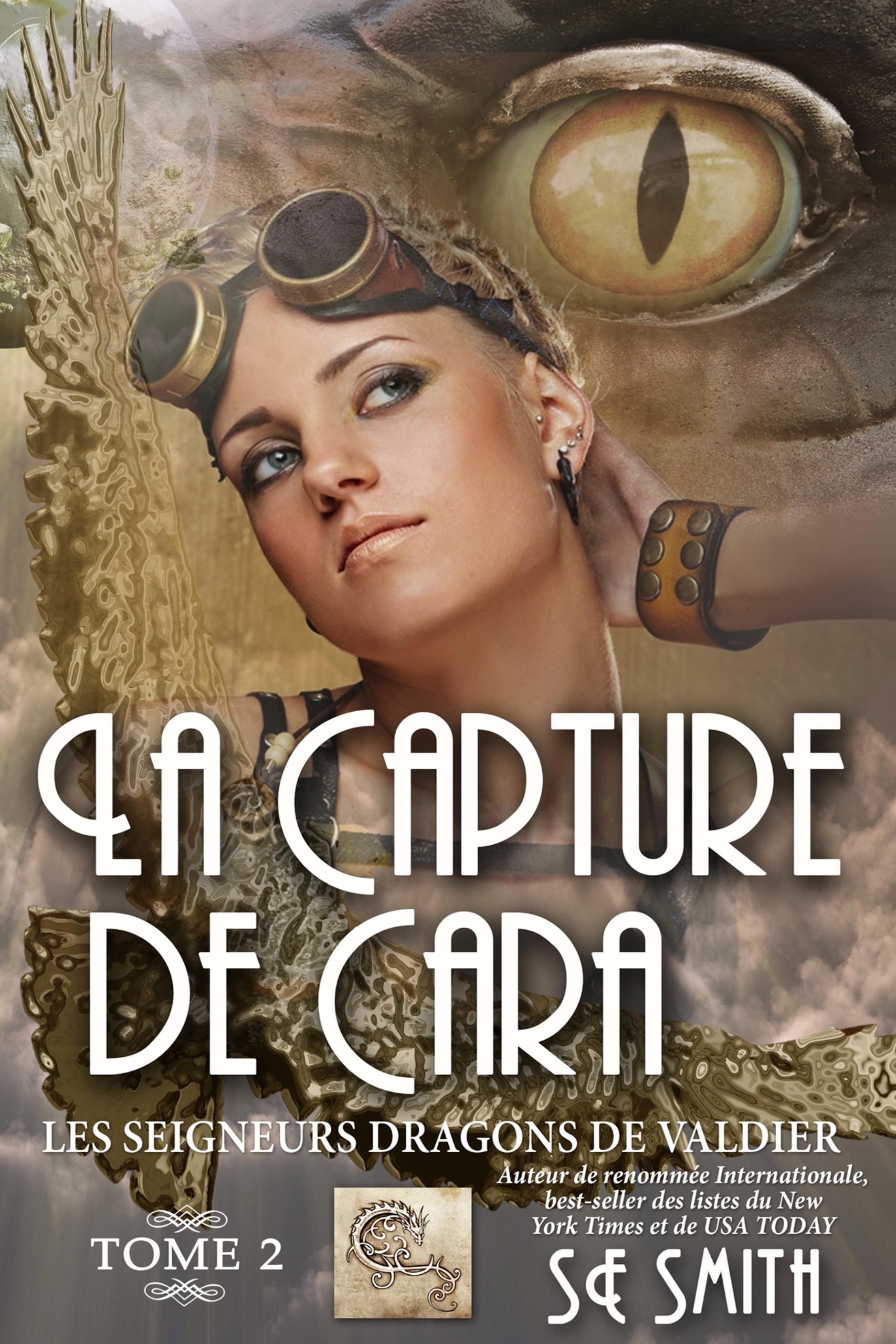 LA CAPTURE DE CARA: LES SEIGNEURS DRAGONS DE VALDIER TOME 2 (ebook: Kindle et epub)