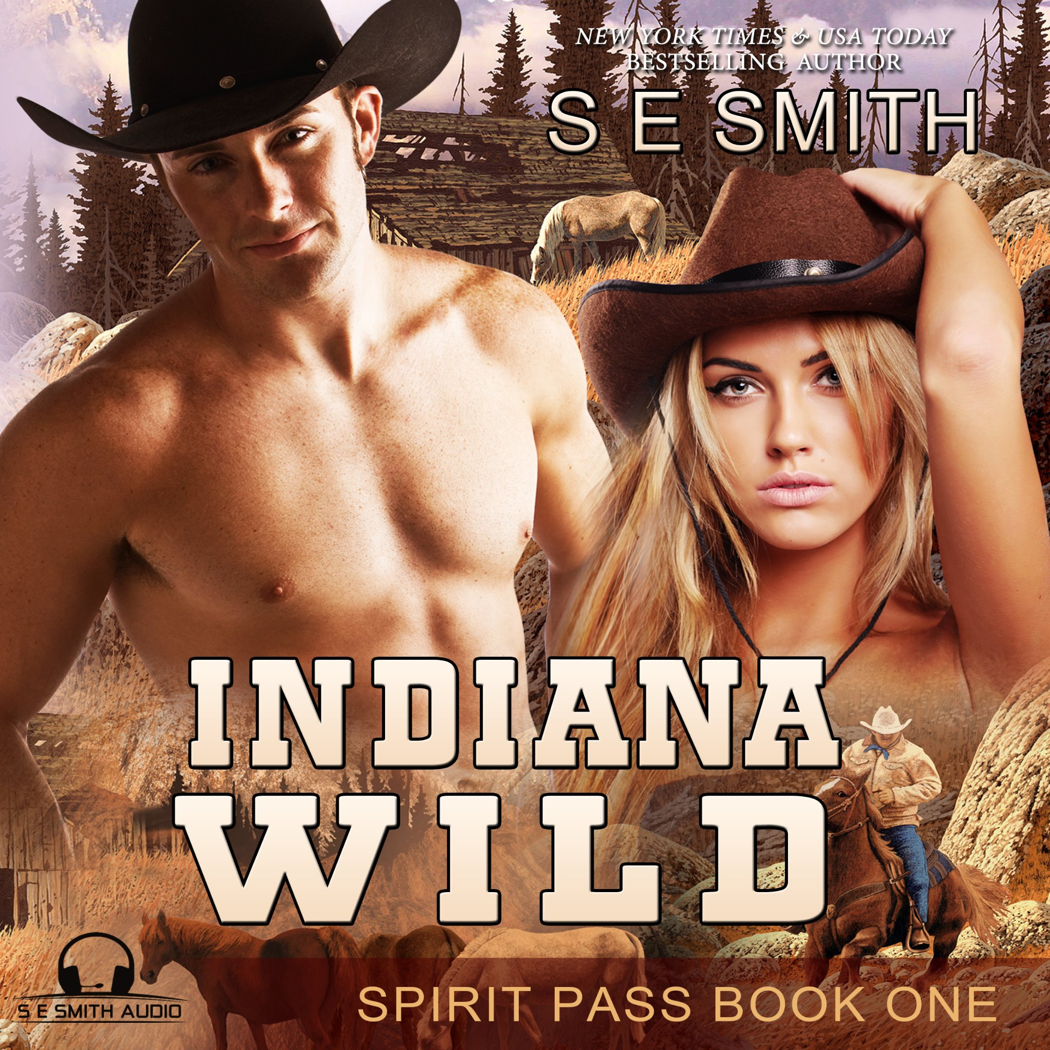Indiana Wild: Spirit Pass Book 1 (Audiobook CD)
