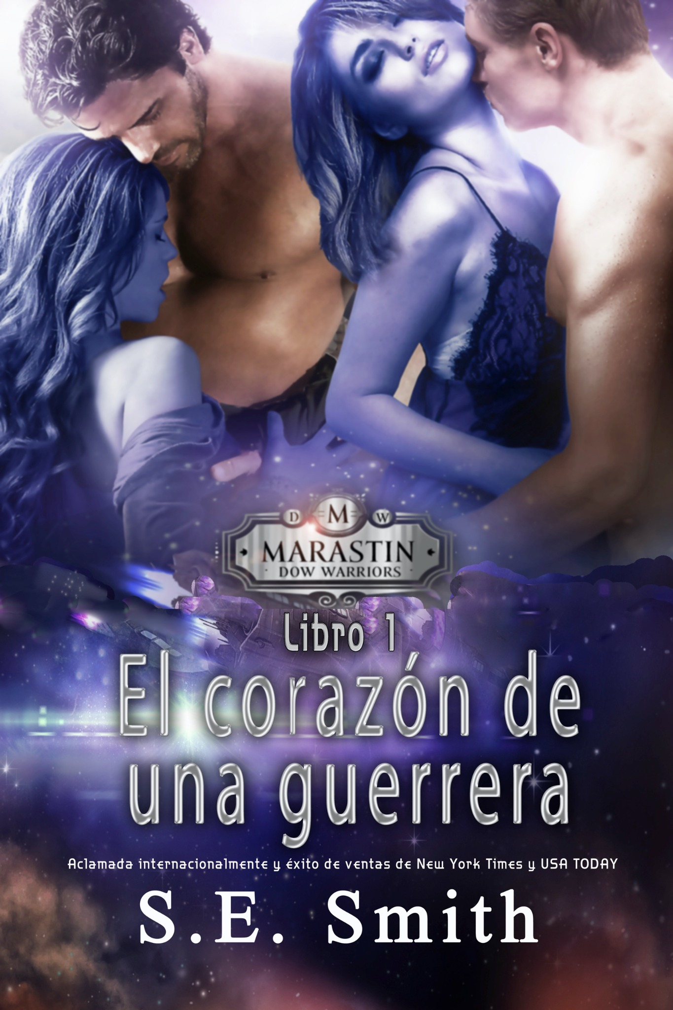 El corazón de una guerrera:  Marastin Dow Warriors Libro 1 (ebook: Kindle y epub)