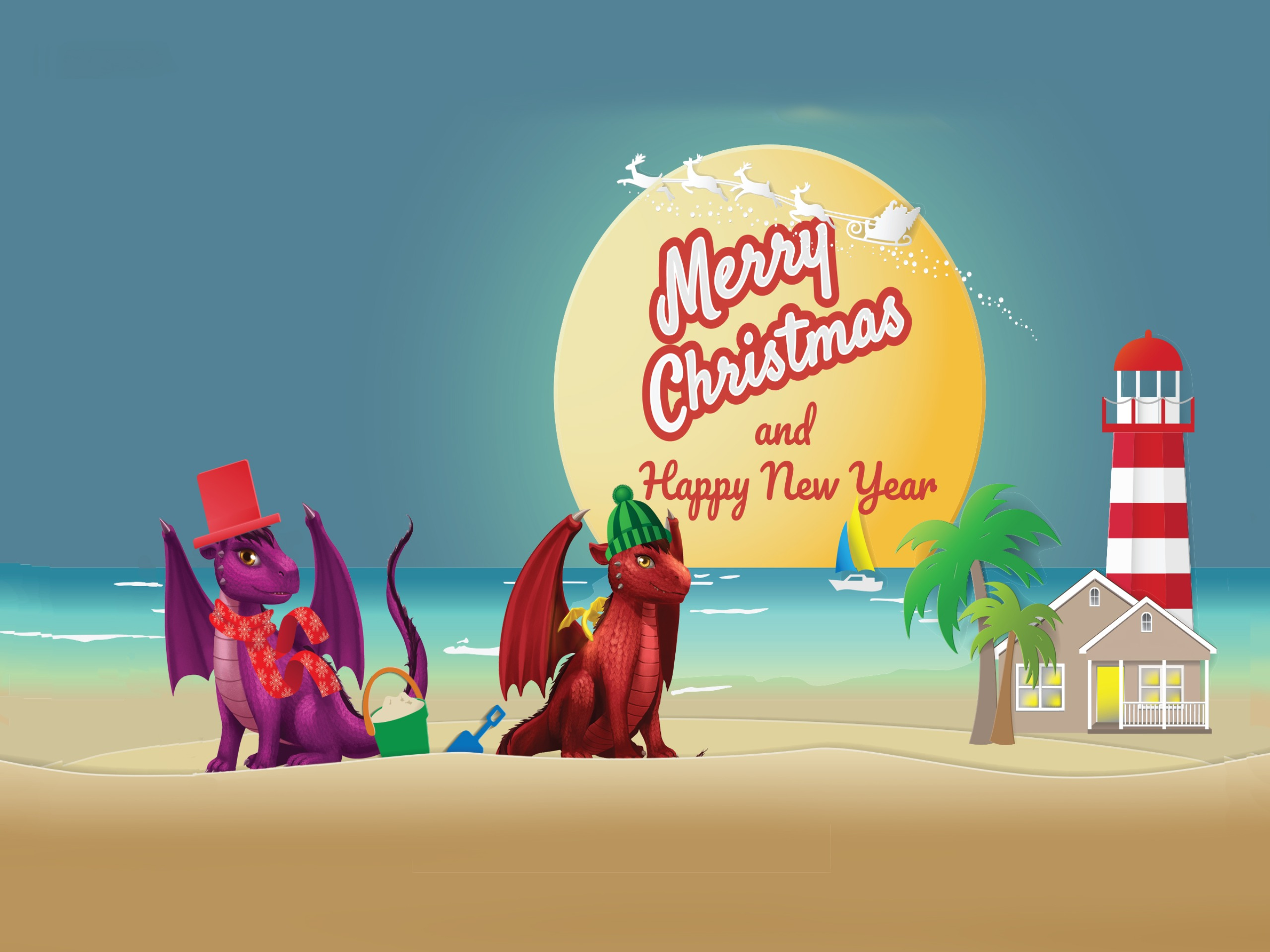 Dragonlings of Valdier Christmas Greeting Card Assortment