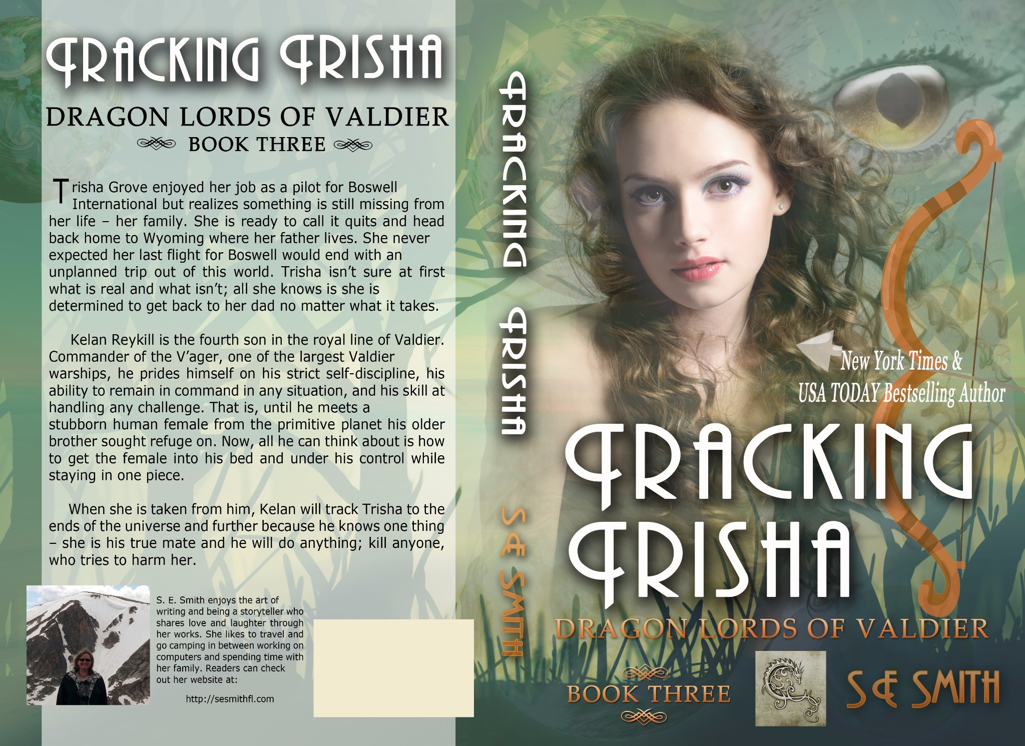 Tracking Trisha: Dragon Lords of Valdier Book 3 (Paperback)