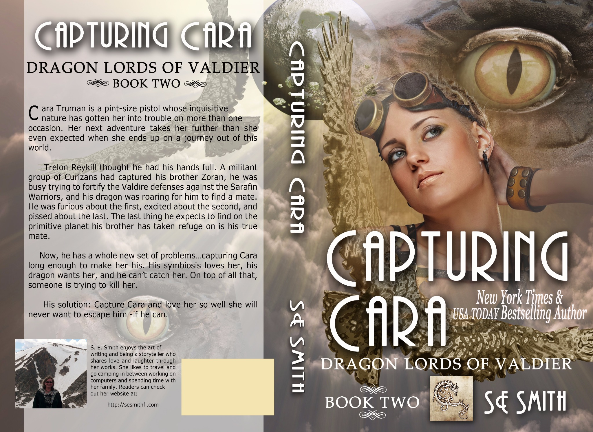 Capturing Cara: Dragon Lords of Valdier Book 2 (Paperback)