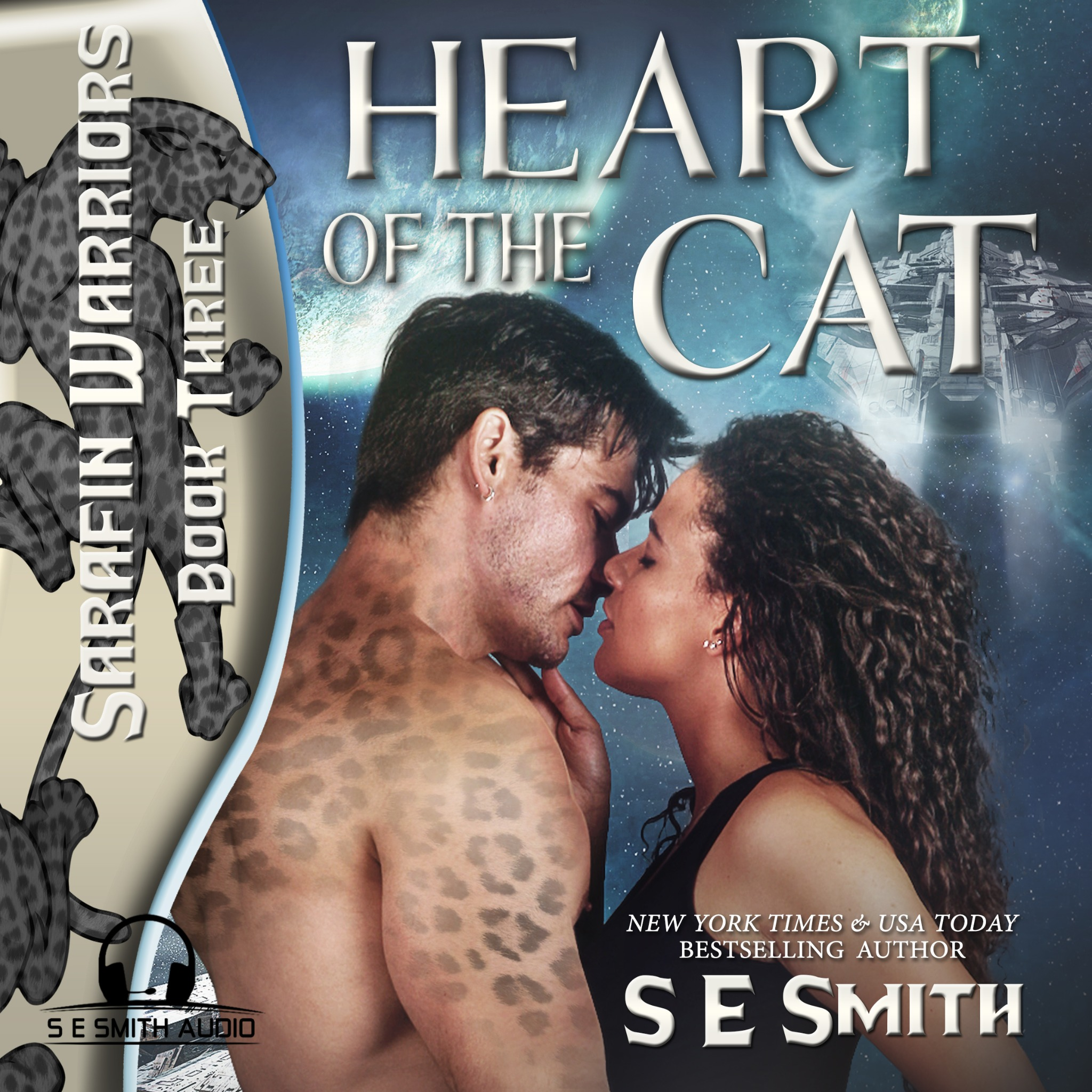 Heart of the Cat: Sarafin Warriors Book 3 (Audiobook CD)