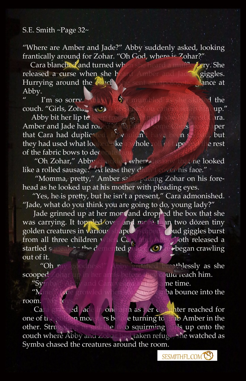 Autographed Dragonling Poster