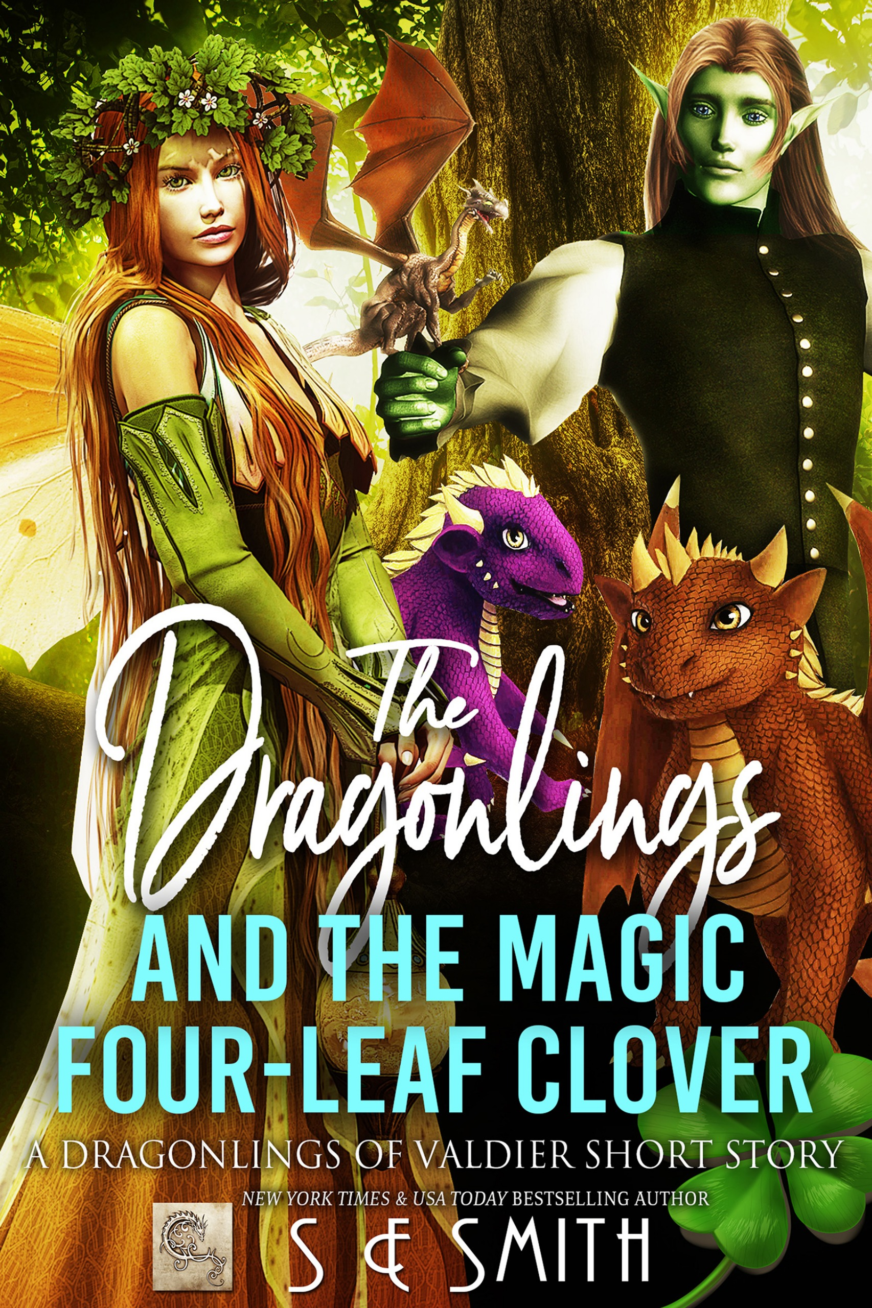 The Dragonlings and the Magic Four-Leaf Clover: A Dragonlings of Valdier (Paperback)