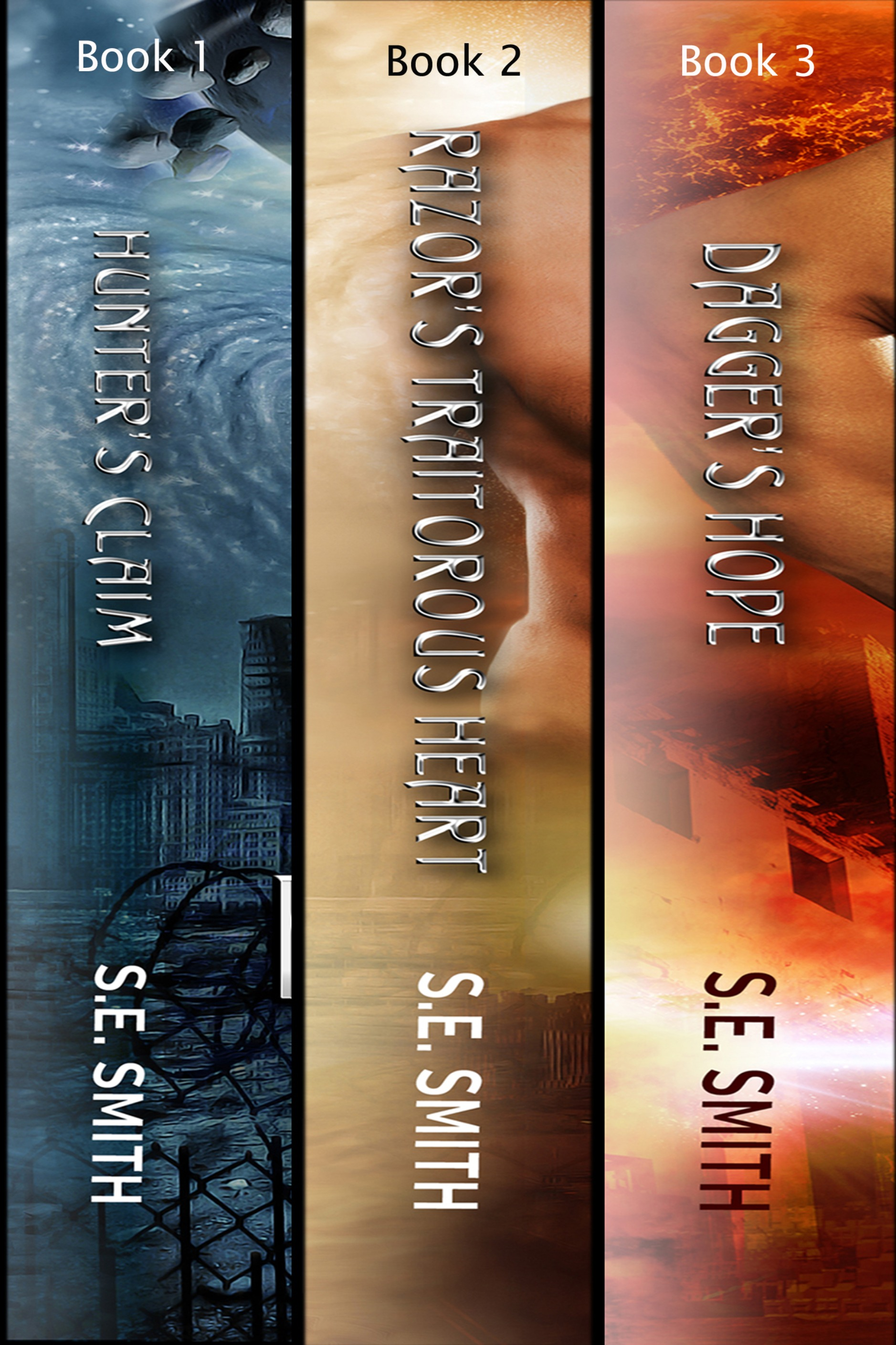 The Alliance Boxset Books 1-3: Science Fiction Romance (Ebook: Kindle and epub)