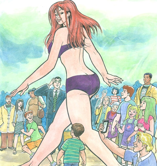 Bojay's Giantess Cartoons Three