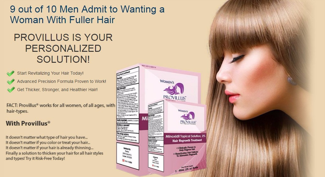 Provillus Hair Loss Treatment Free Bottle Pay Shipping Only