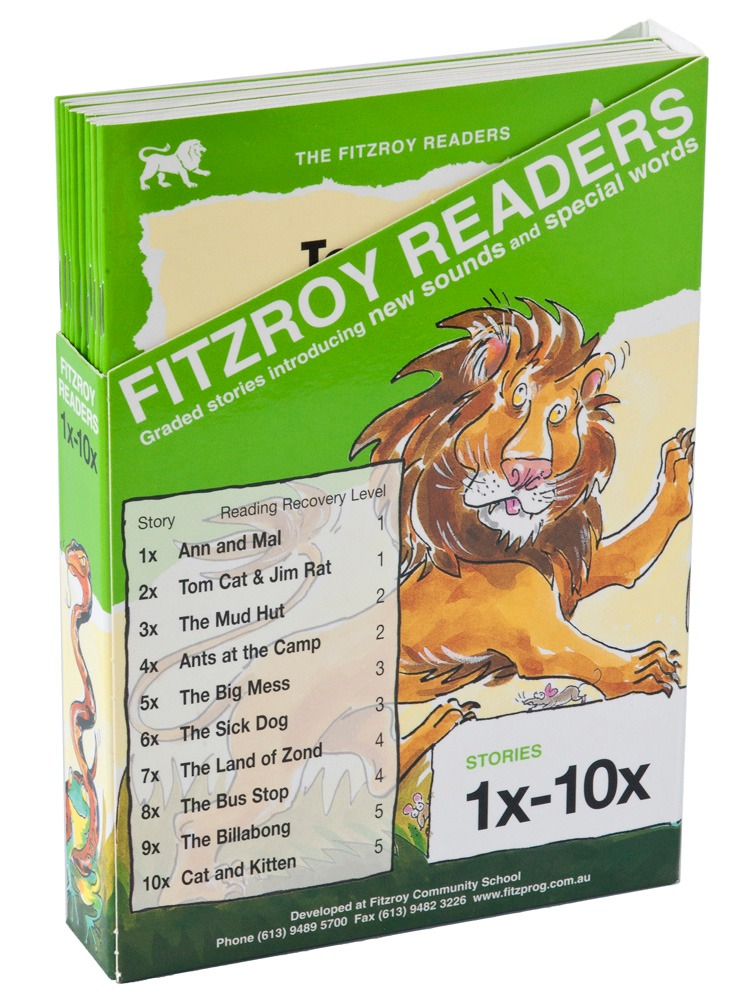 Decodable Readers-  Fitzroy  - Sets 1 - 10 and 1X - 10X (20 phonics readers, Australian authors)