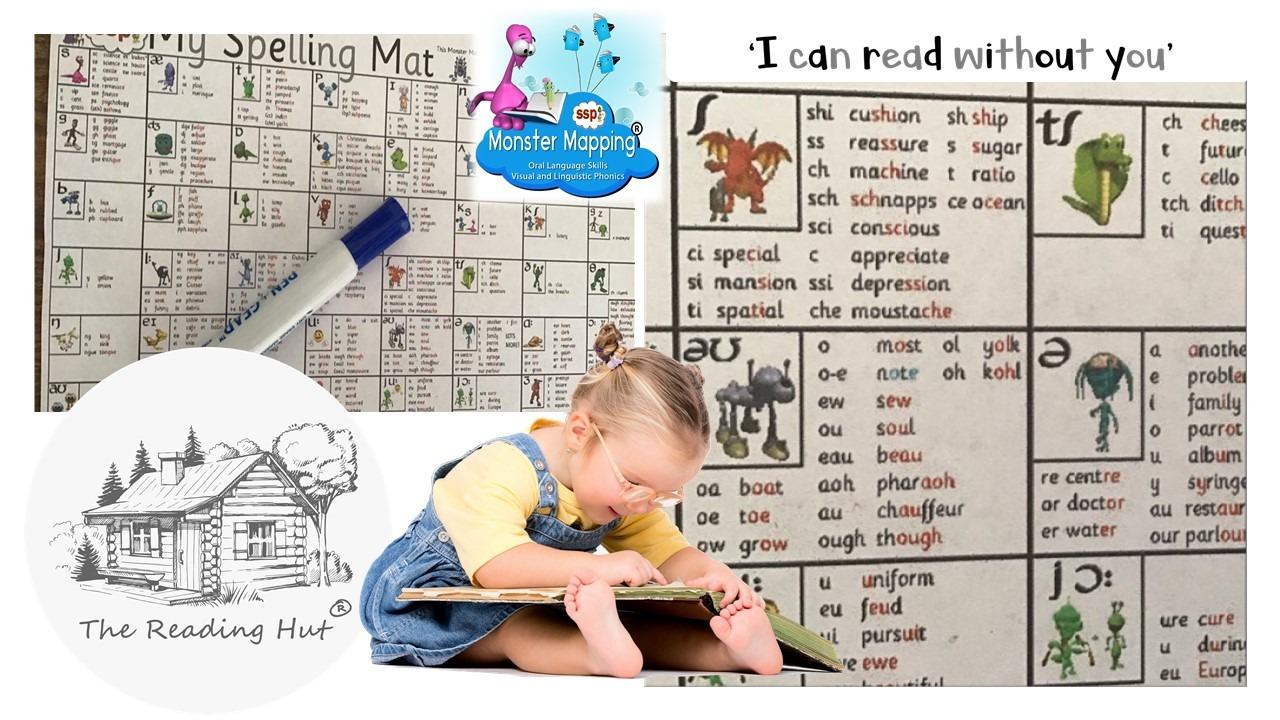 Freebie Phonics offer - Digital Download Spelling Mat ! - Graphemes for English Phonemes