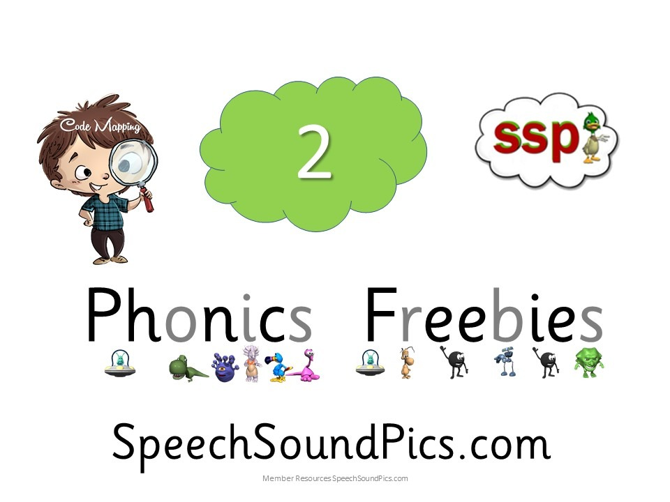 Freebie Phonics 1 download for first 20 visitors! As seen on facebook.com/speechsoundpics
