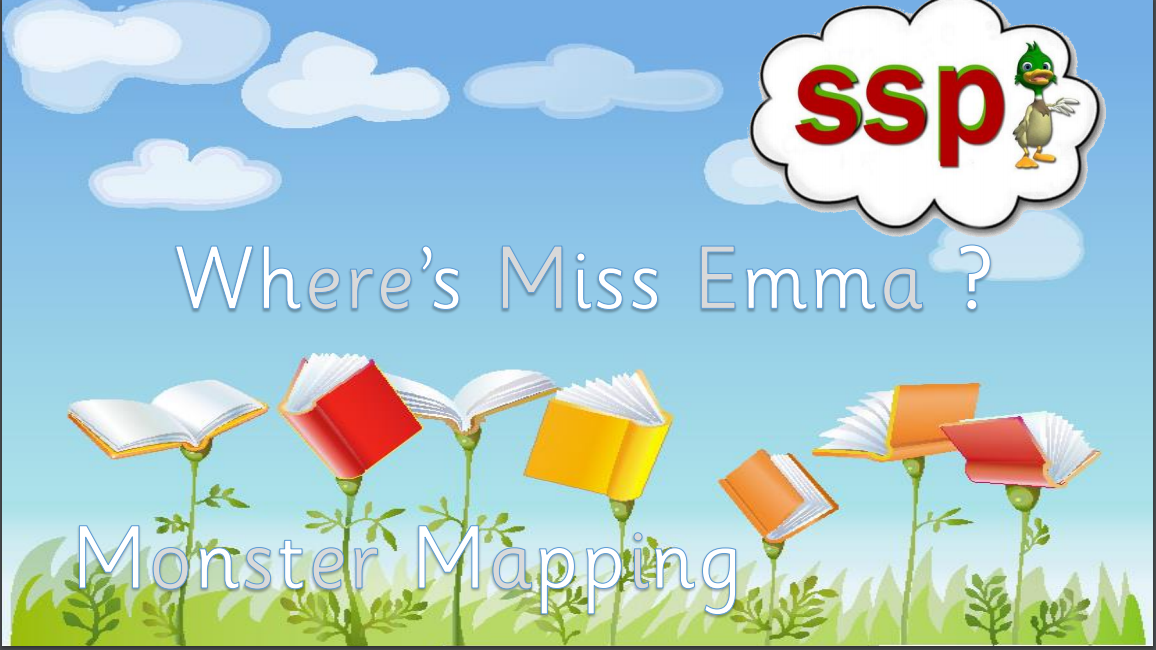 Free 'Where is Miss Emma?' SSP Non Code Level Monster Reader