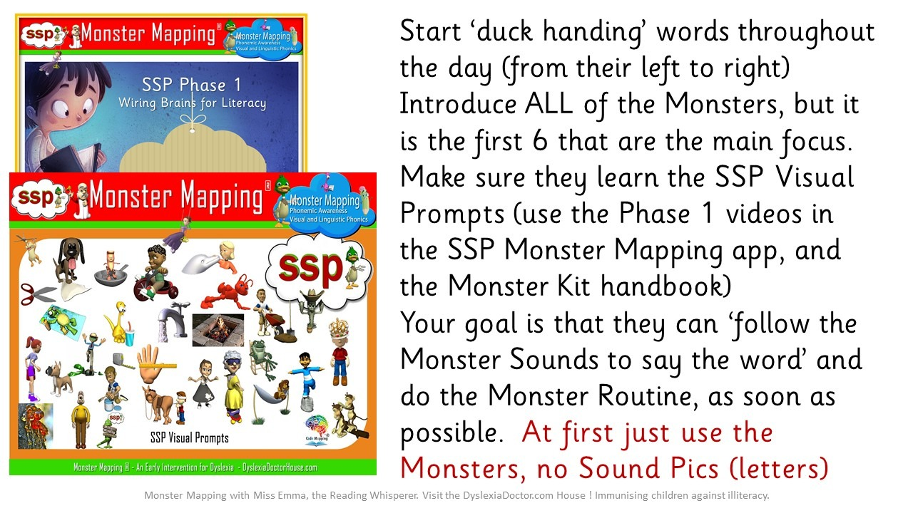 Anyone starting out needs the Monster Mapping Kit Handbook and a Spelling Cloud Keyring