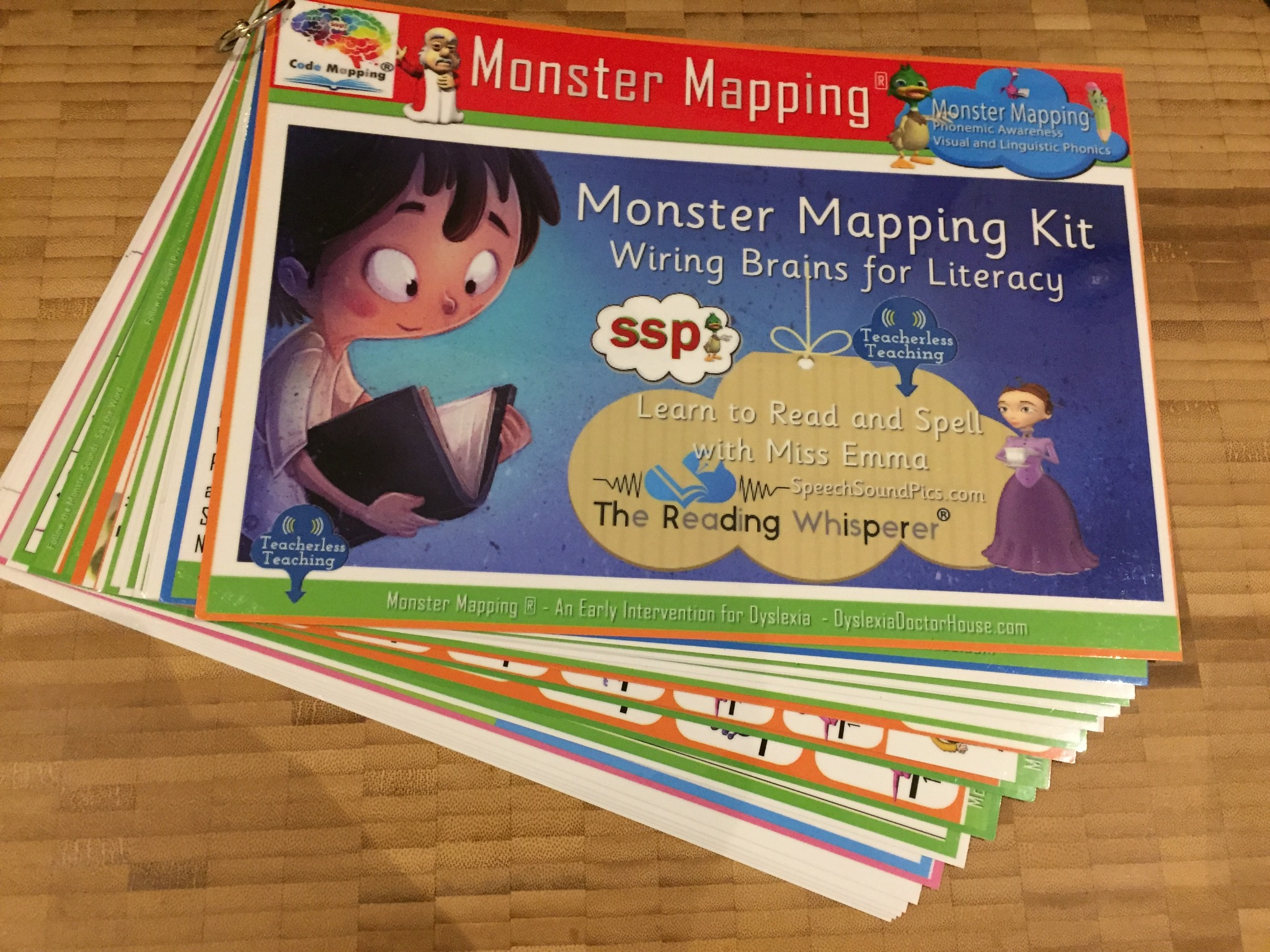 I CAN READ! ICRWY FULL Monster Mapping Teaching Kit - Order with 6 Month Membership!