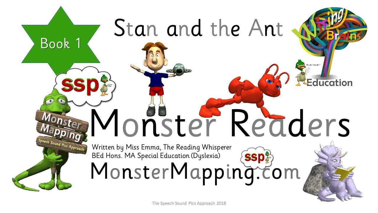 Free SSP Decodable Reader - Stan Book 1 - Read, Write, Draw