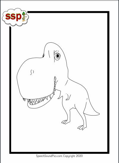 Digital Download - Colouring Book ! Purple Level (phoneme) Monsters