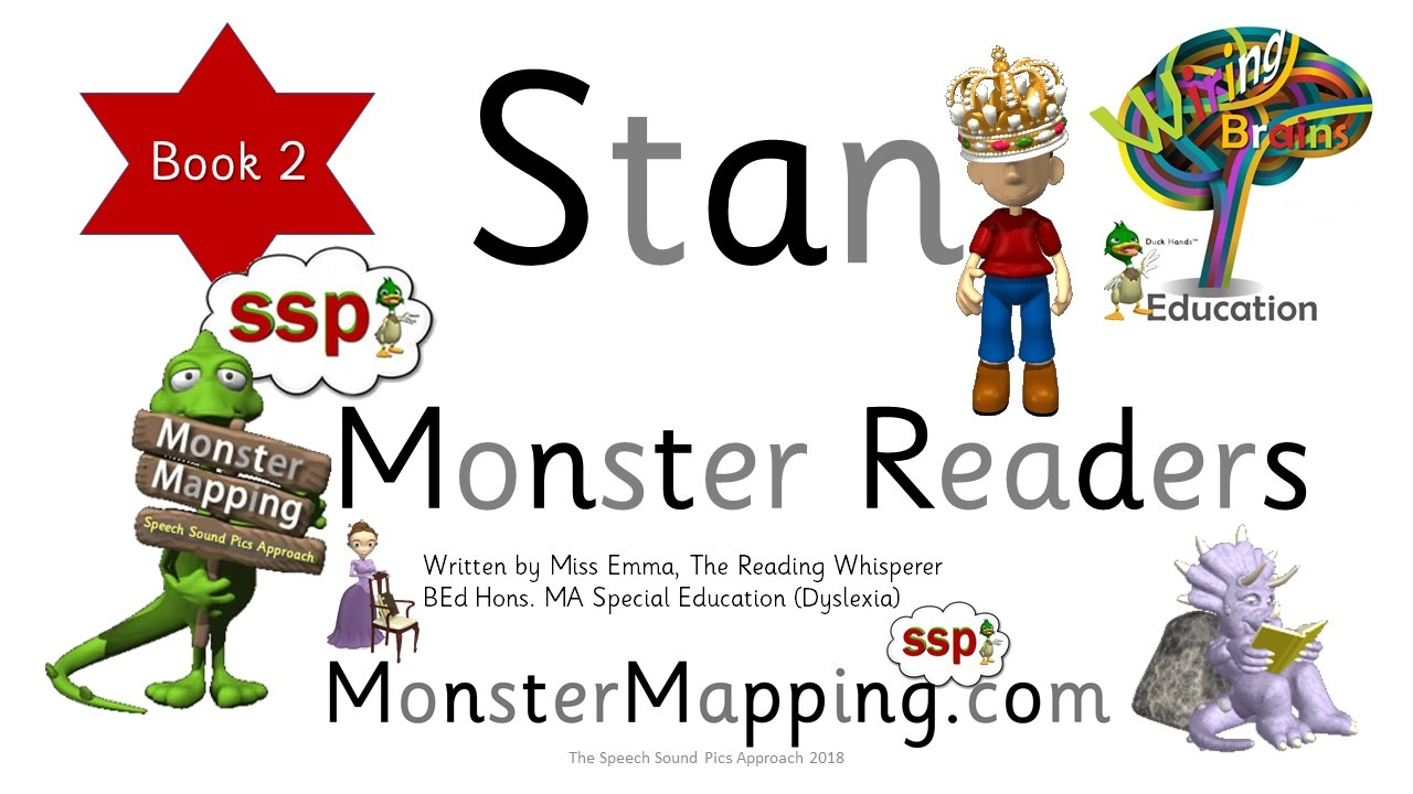 Free SSP Decodable Reader - Stan Book 2 - Read, Write, Draw