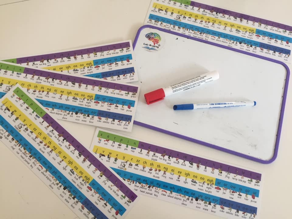 Phonics Chant Strips - 5 Student Chant Strips for AU$20 - 90 commonly used graphemes