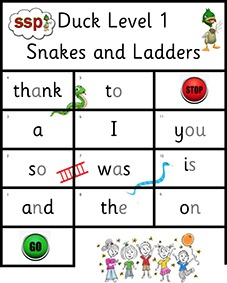 SSP Digital - Duck Levels 1-3 Snakes And Ladders
