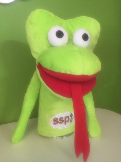 All 3 Puppet Set - Speech Sound Duck, King and Frog $15 discount !