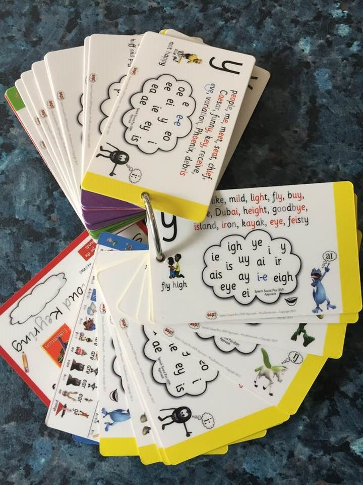 Cloud Keyring - Pack of 2 - ALL Spelling Choices with Monsters