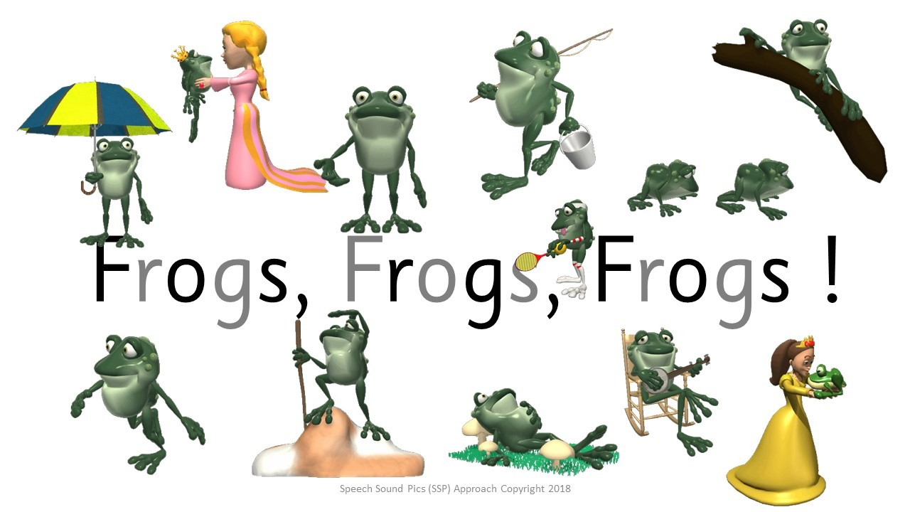 Free Decodable Monster Reader - Blue Code Level - Frogs, Frogs, Frogs