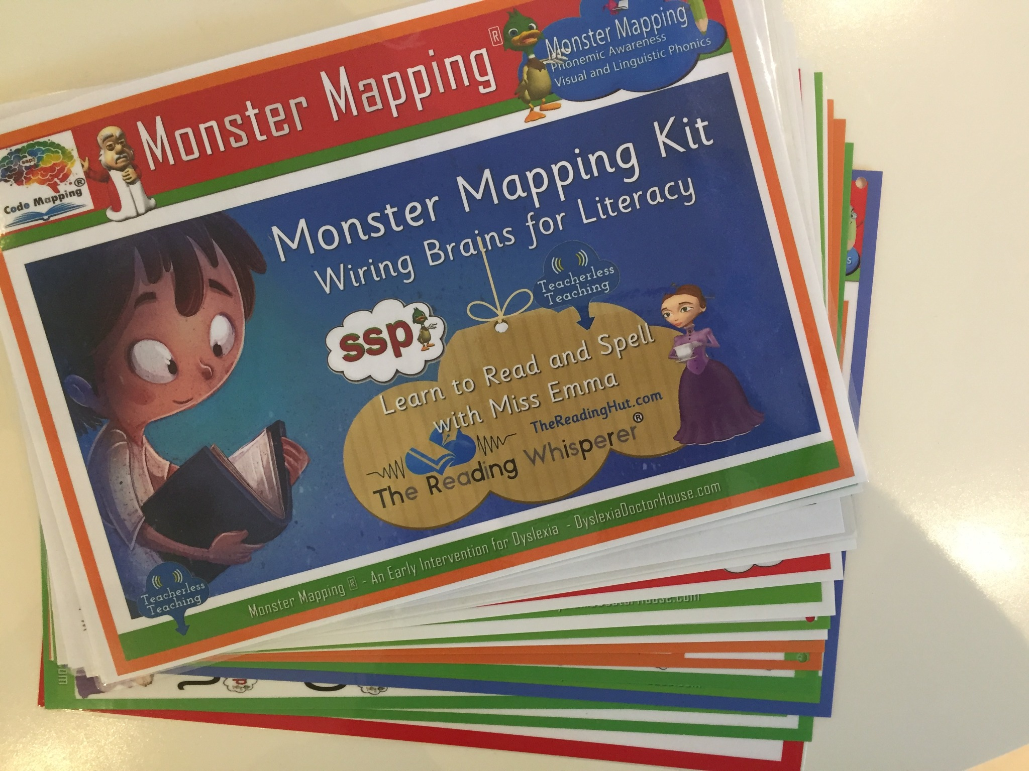1 Monster Mapping Kit Resource Handbook AND Speedy Sight Word Handbook