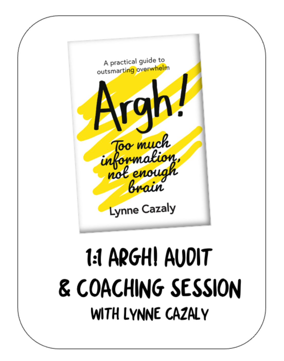 1:1 Argh Audit and Coaching Session