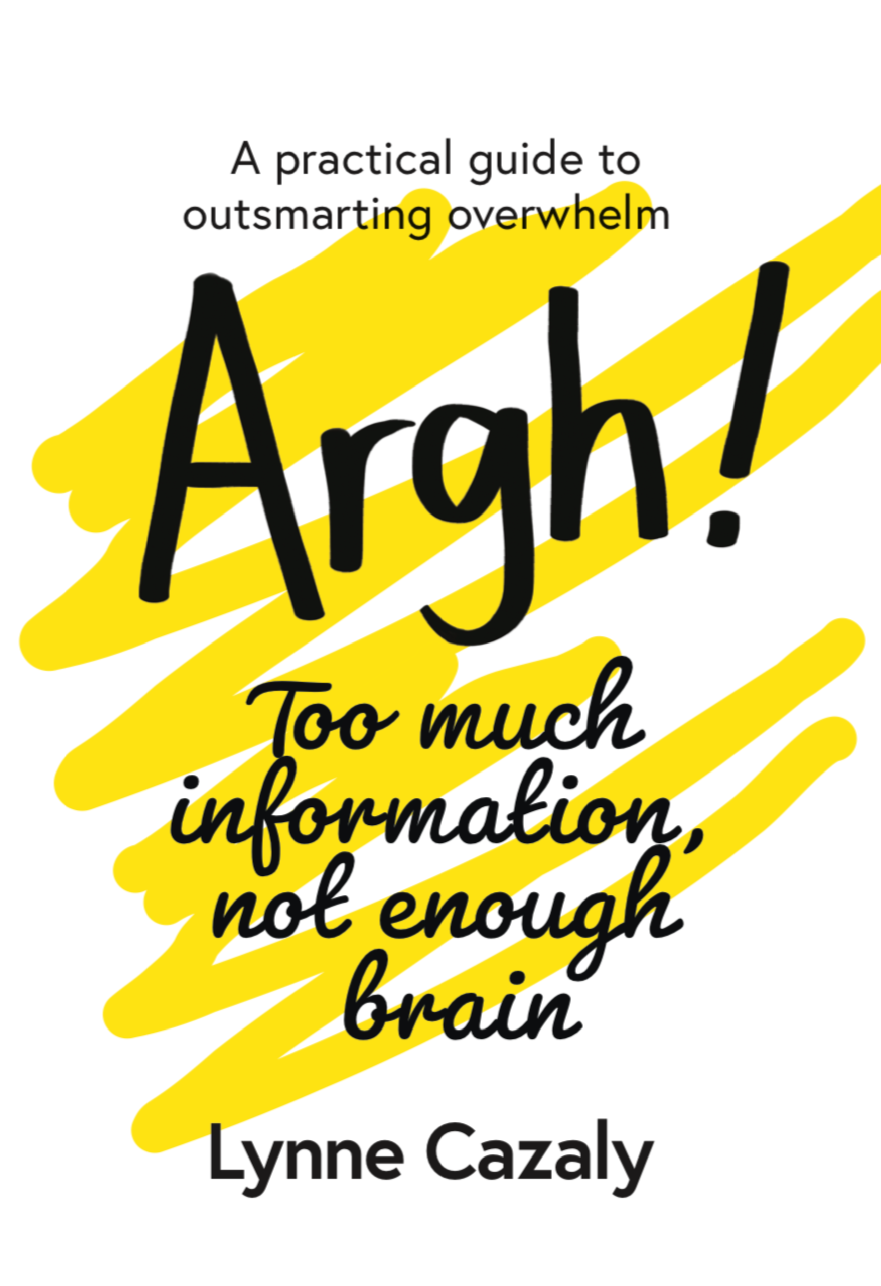 'Argh! Too much information, not enough brain : A Practical Guide to Outsmarting Overwhelm'