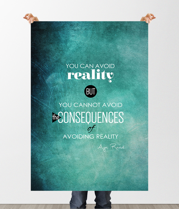 You can avoid reality - 11x17 Printable by WOCADO