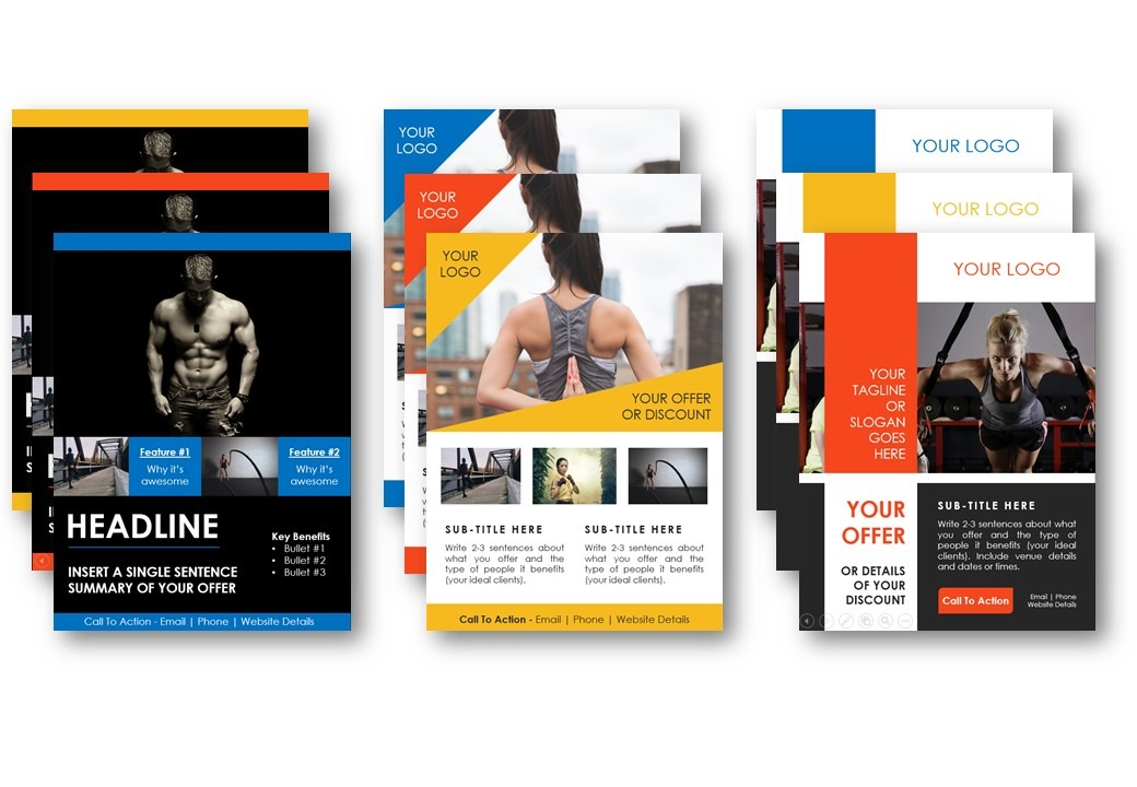 Fitness Business Templates