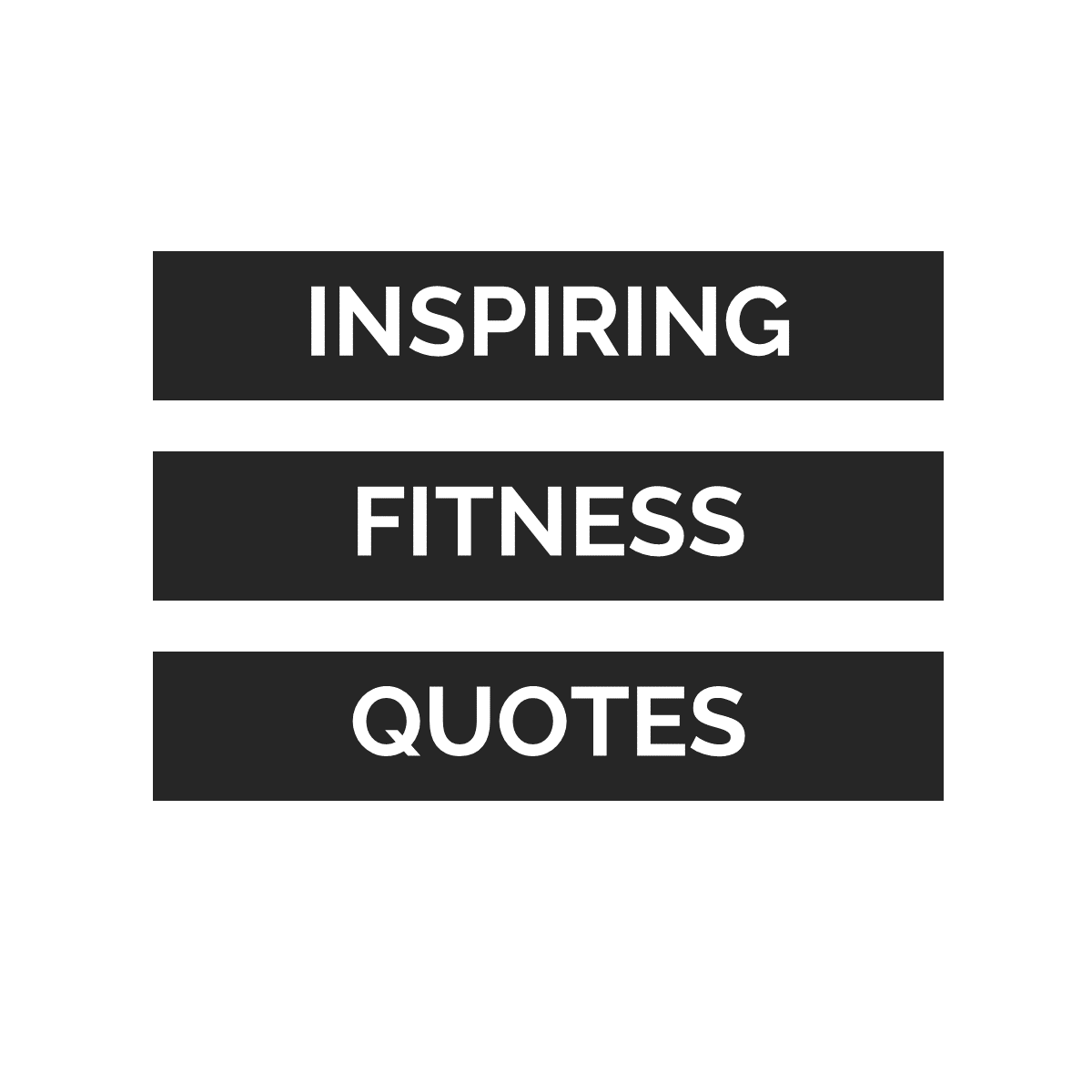 30 Inspirational Fitness Quotes - Social Media Bundle