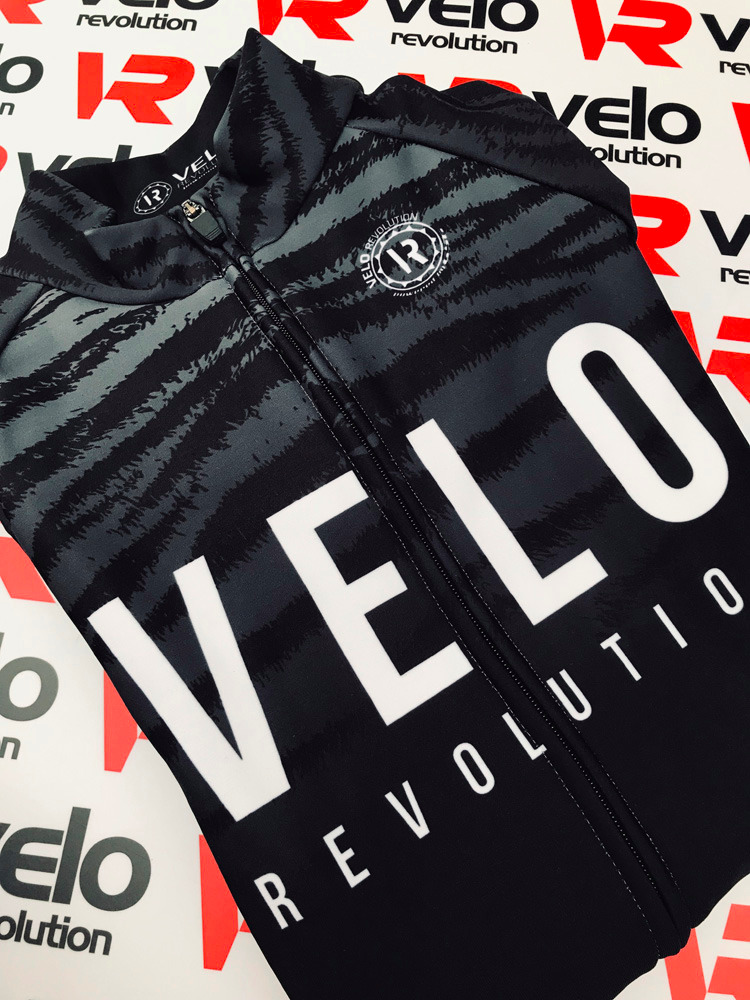 Long Sleeve Thermal Jersey Black Tiger (smaller sizes)