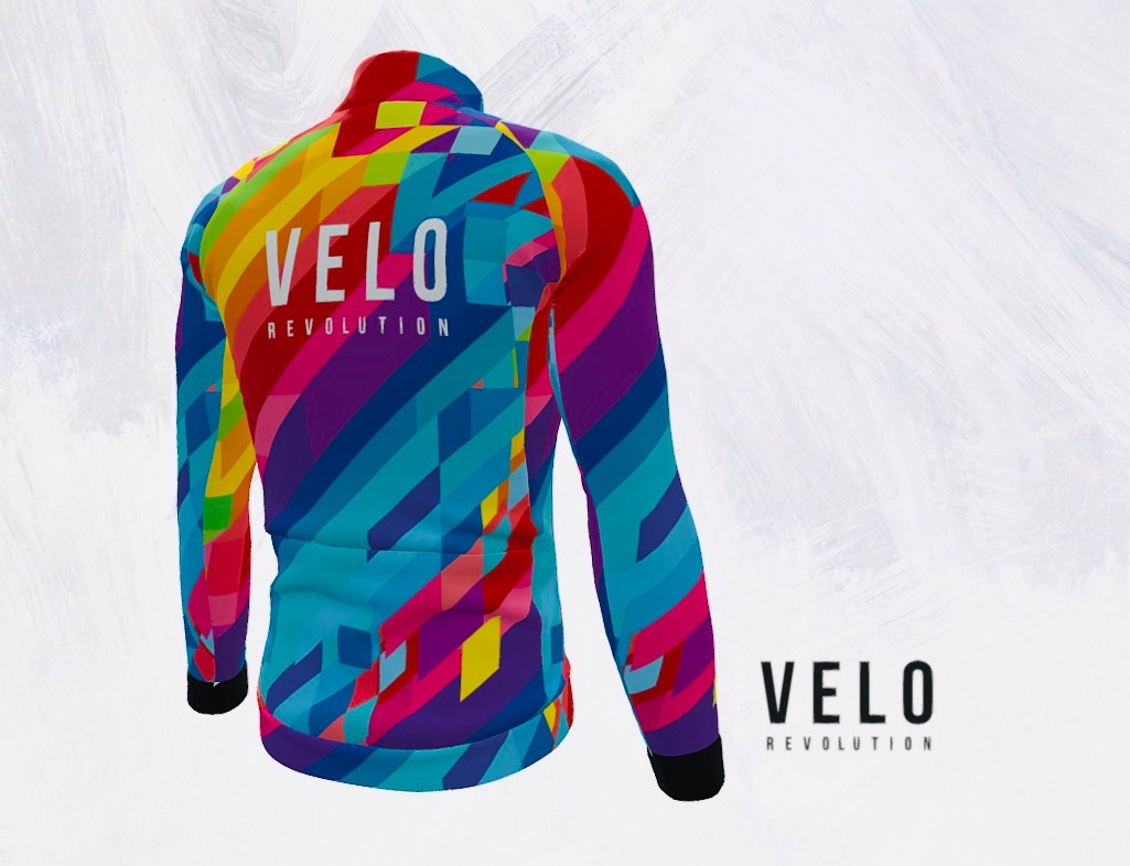LONG SLEEVE CORE THERMAL JERSEY VIBRANT ENERGY