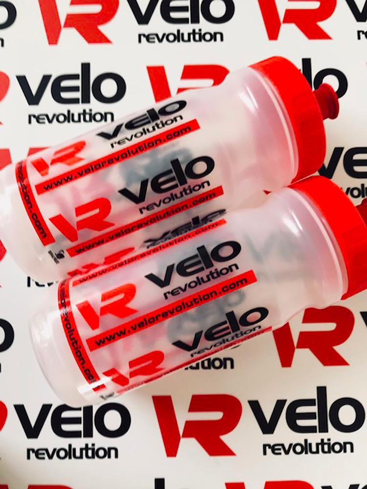 Pro Team Cycling Water Bottles - Clear 600ml
