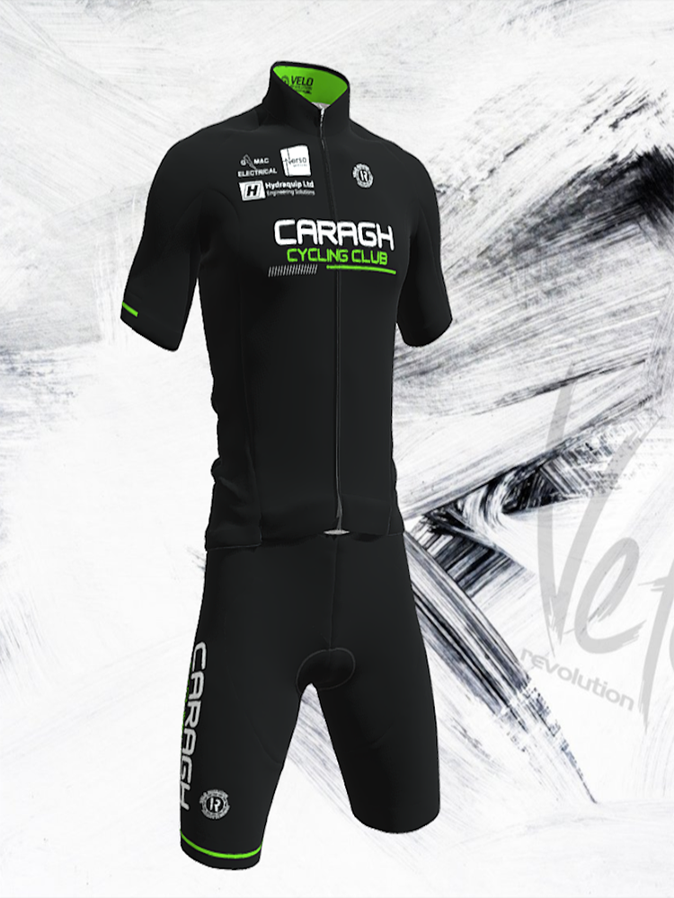 CARAGH CC - Short Sleeve Jersey ALL ROUNDER