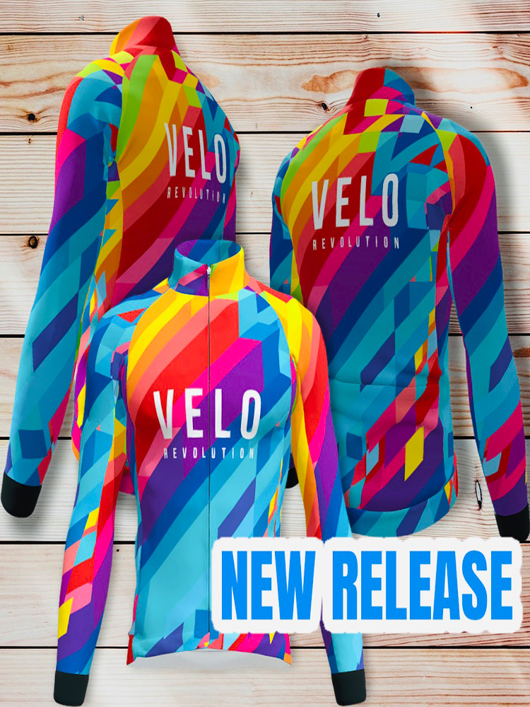 Long Sleeve Thermal Jersey - VIBRANT ENERGY