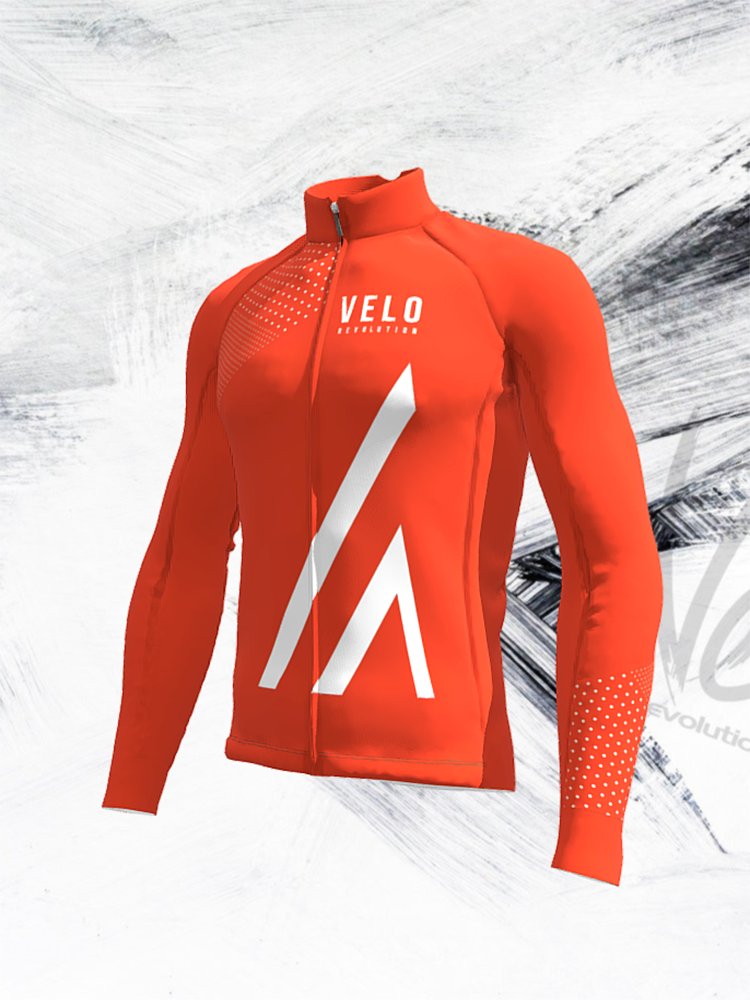 ICE Thermal Jacket v2 TIGER ORANGE SUMMIT with eVent Membrane