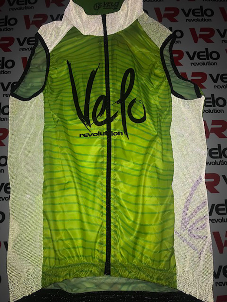 Gilet LUNAR with 3 Pockets -  Fluo Yellow/Neon Green Reflective