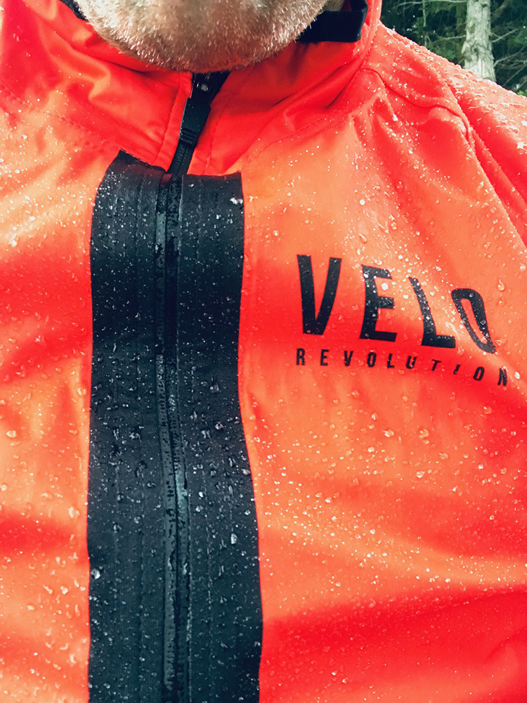 STORM TIGER ORANGE Rain Jacket/Cape