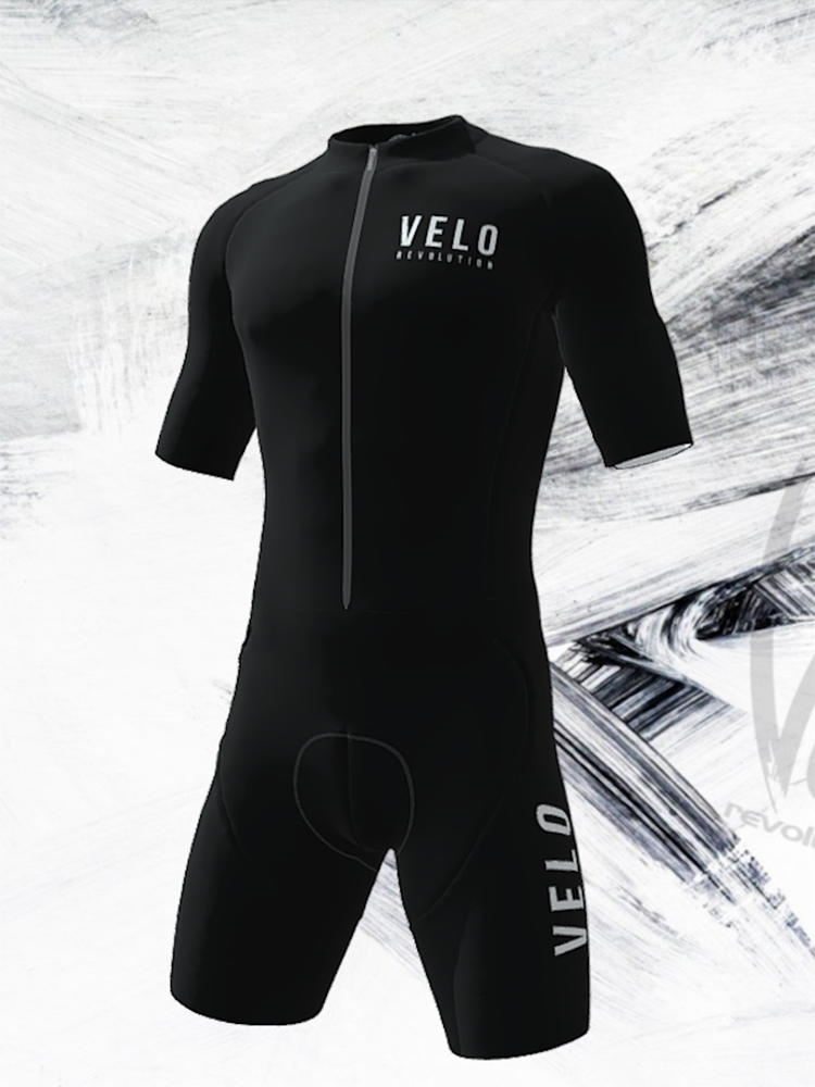 Skin Suit - Black Stealth VELO