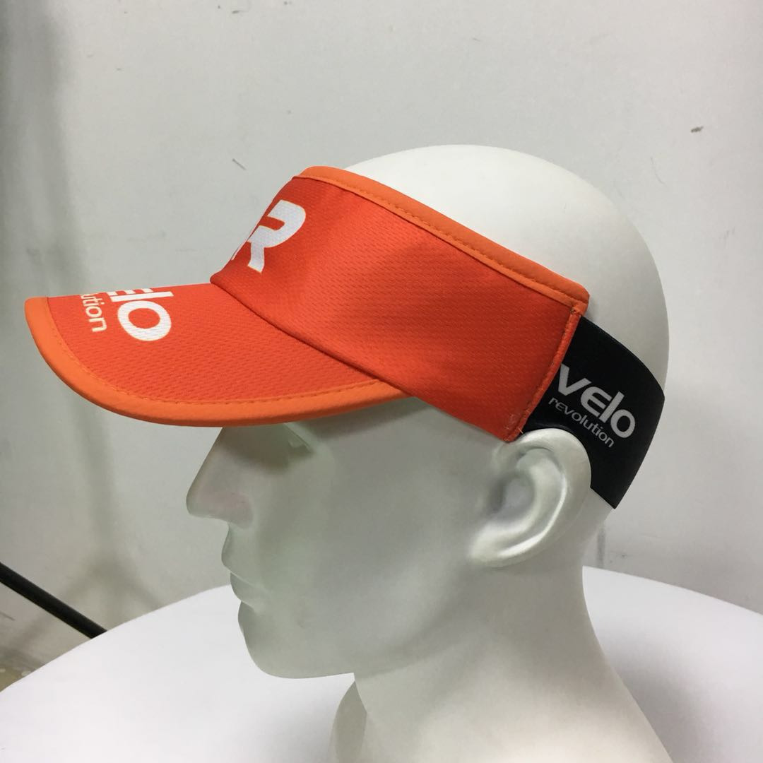 Headsweat Ultra Light Sun Visor Cap - TIGER ORANGE