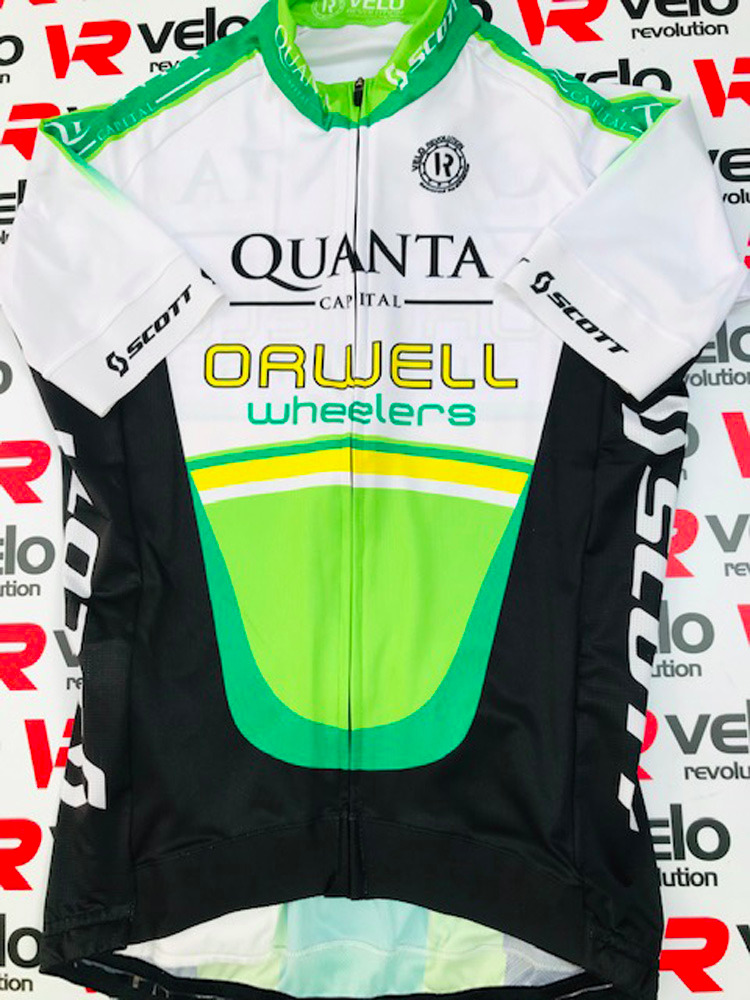 ORWELL WHEELERS - SALE 2020 FEMALE Short Sleeve Jersey All-Rounder