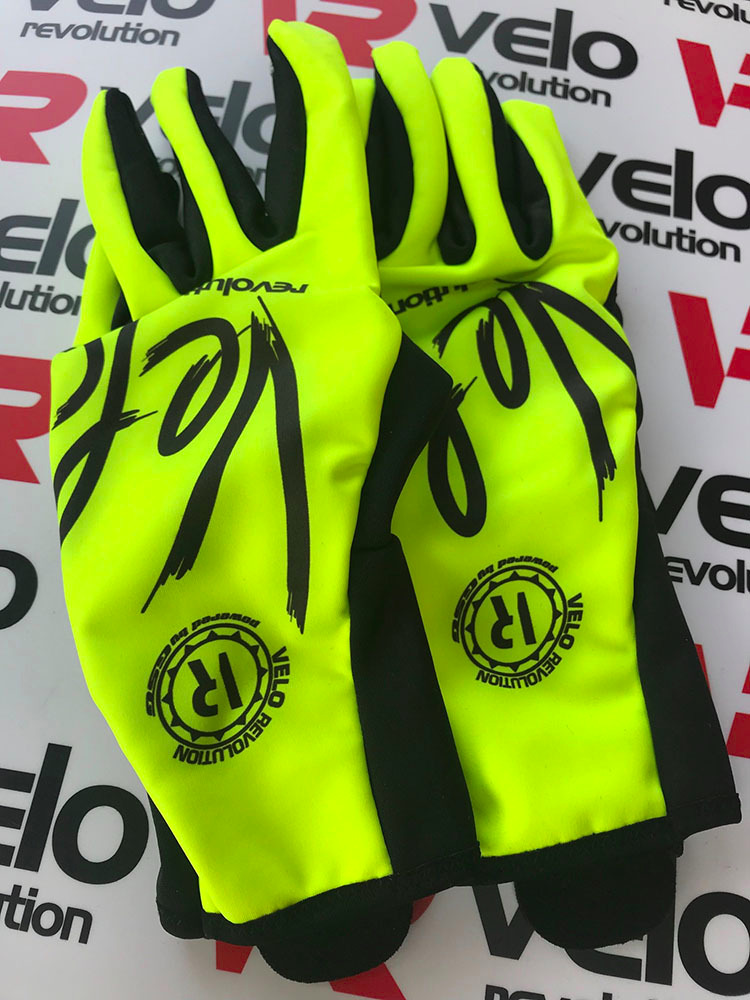 Gloves Wind Chill Winter/Spring - Yellow (Low Stock)